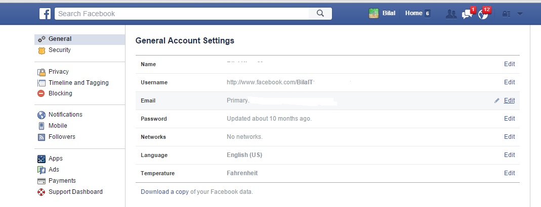 How To Make Facebook Account Profile Name Single